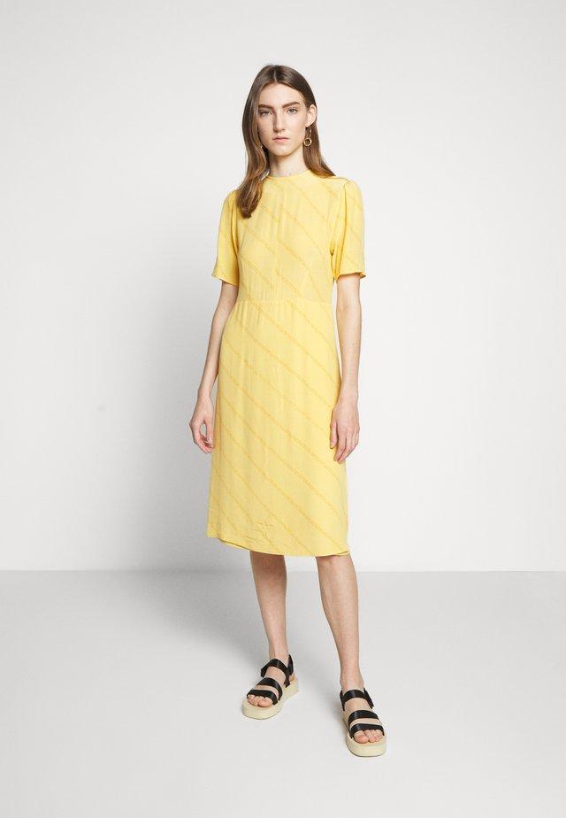 JOSELYN - Day dress - yolk yellow