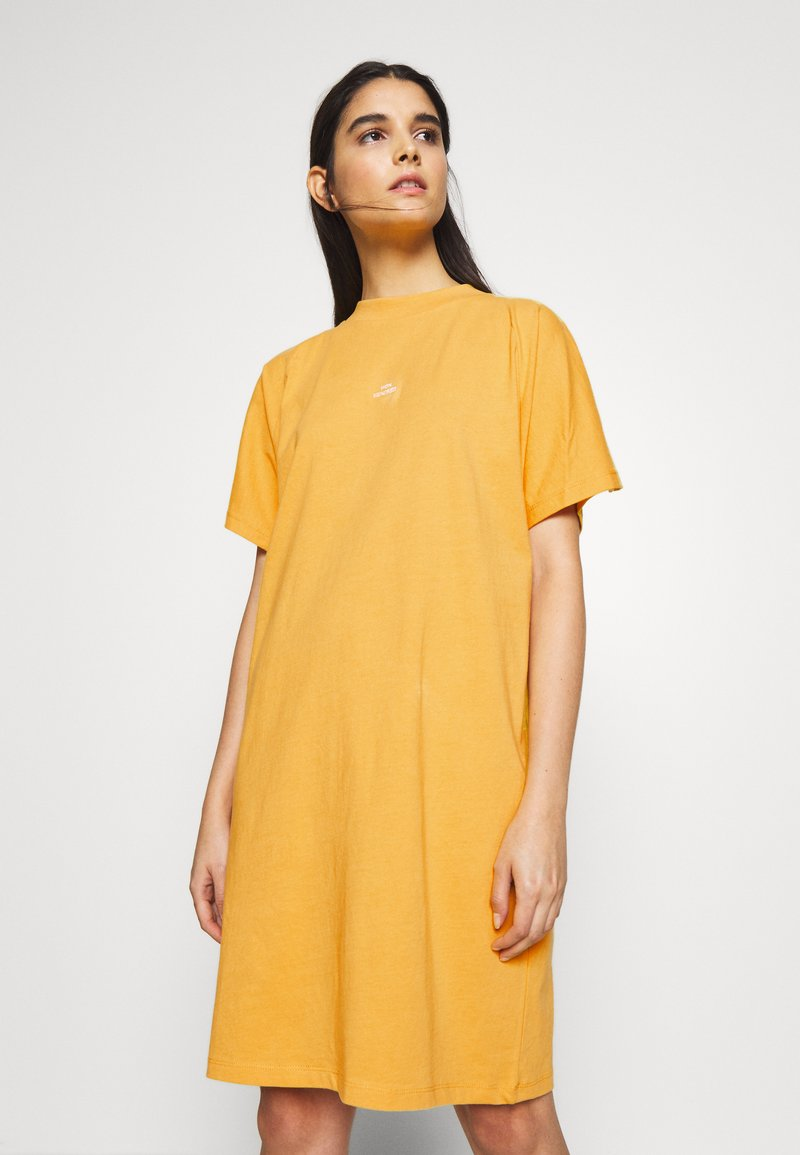 Won Hundred - BROOKLYN DRESS EXCLUSIVE - Jerseykjoler - yolk yellow