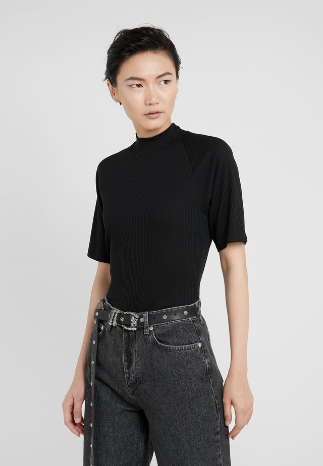 DARLENE - T-shirt con stampa - black