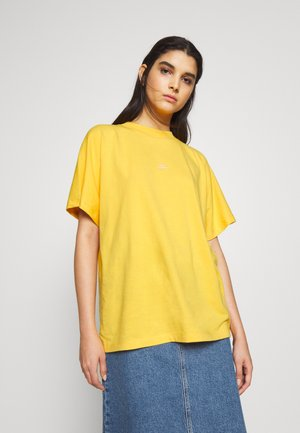 BROOKLYN EXCLUSIVE - T-shirt z nadrukiem - yolk yellow