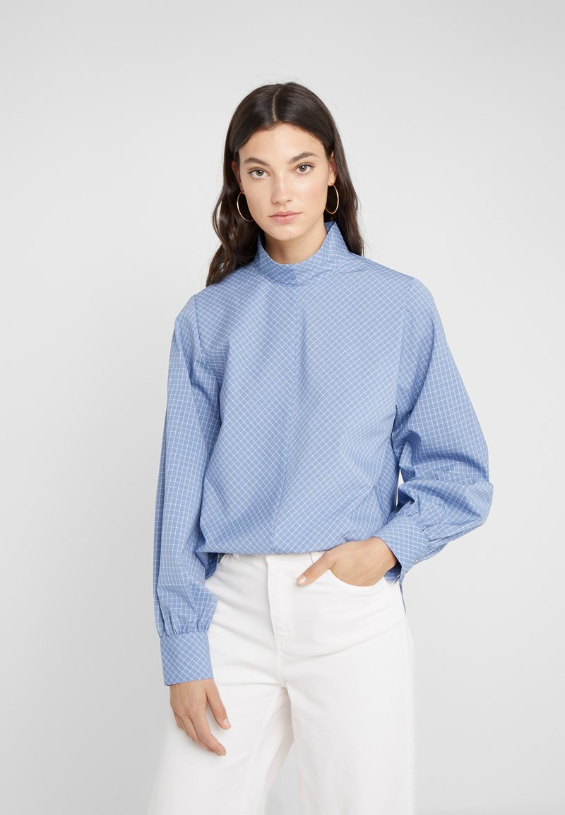 Won Hundred - MEREDITH - Bluse - classic blue check
