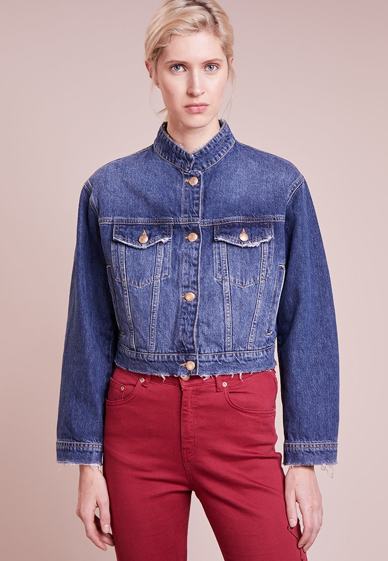 Won Hundred - COURTNEY - Kurtka jeansowa - blue denim