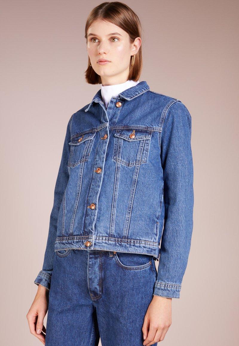 Won Hundred - SEVENTEEN STONE - Denim jacket - stone blue