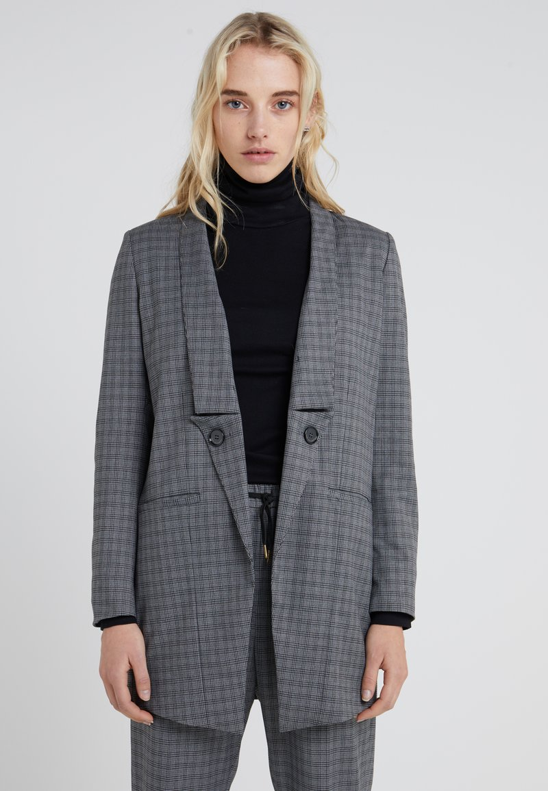 Won Hundred - CHRISTINA - Manteau court - grey melange