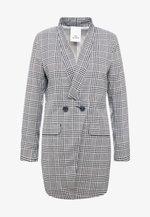 CHRISTINA - Krátký kabát - black/white
