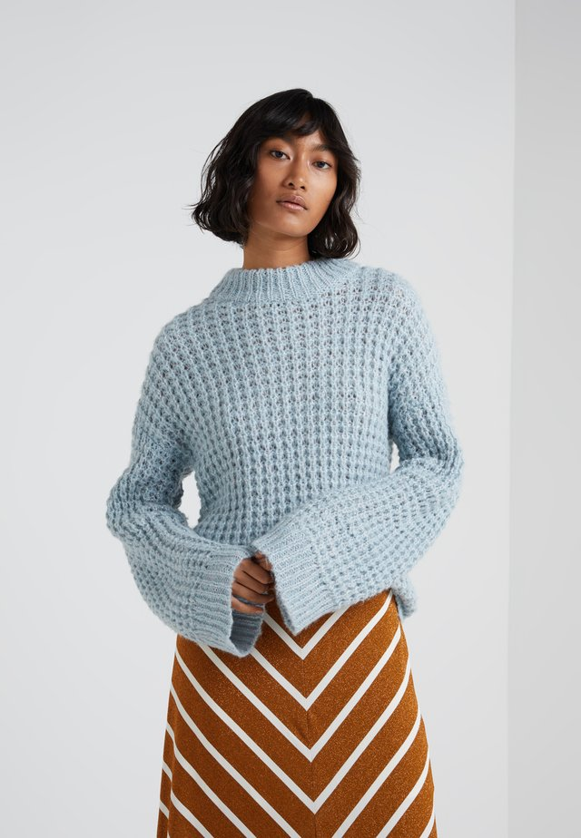 GISELE - Strickpullover - dream blue