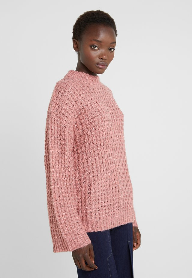 GISELE - Strickpullover - dusty rose