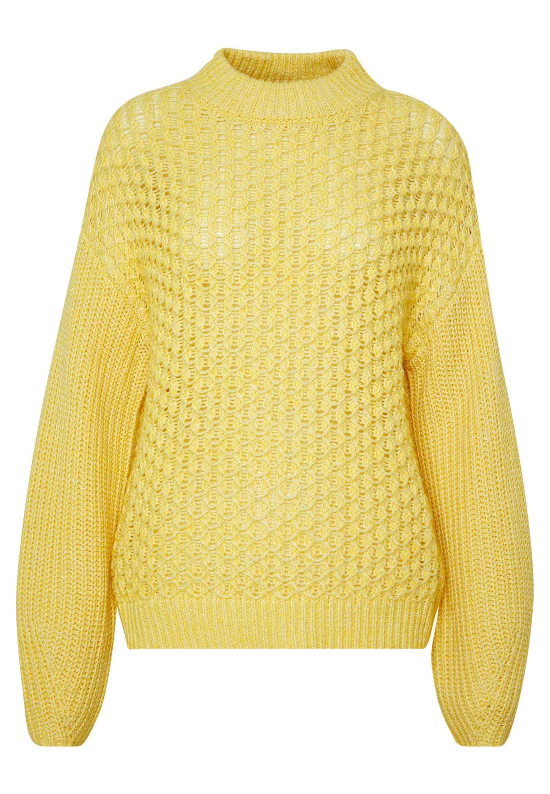 Won Hundred GAZELLE - Sweter - yolk yellow