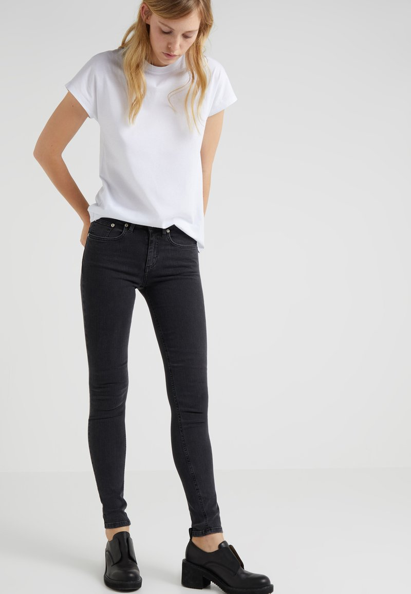 Won Hundred - PATTI - Jeans Skinny Fit - charcoal