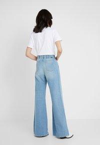 Won Hundred - KIMMY - Flared jeans - used blue - 2