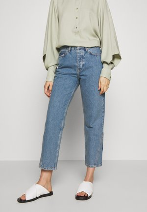 PIXI EXCLUSIVE - Jeans straight leg - distressed blue