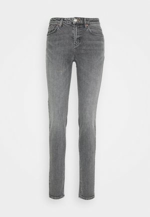 PATTI CLEAN - Skinny džíny - black denim