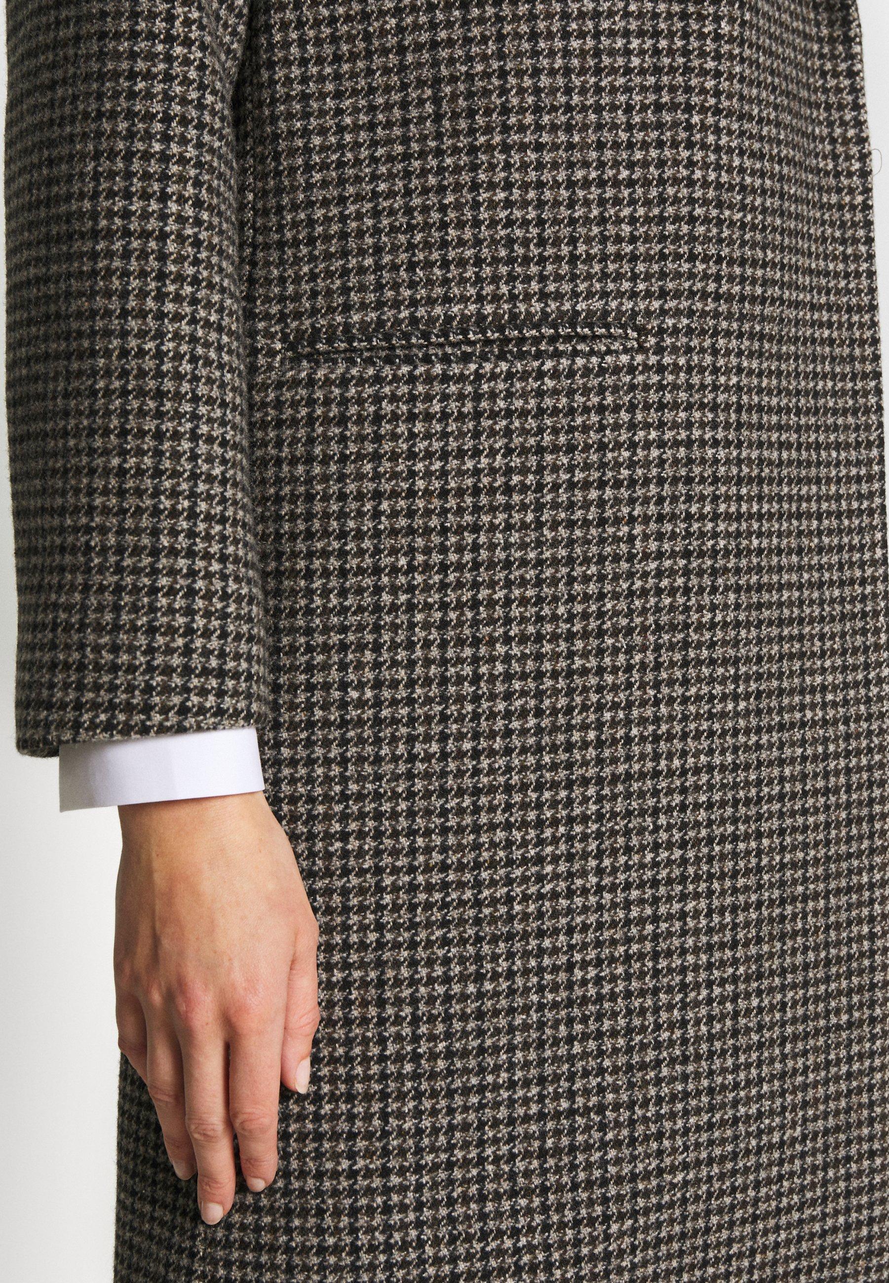 Won Hundred CATELYN - Płaszcz wełniany /Płaszcz klasyczny - houndstooth brown
