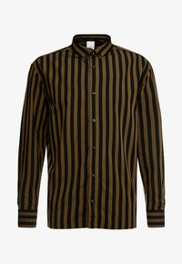 Won Hundred - OZZY - Skjorta - dark olive stripe - 6