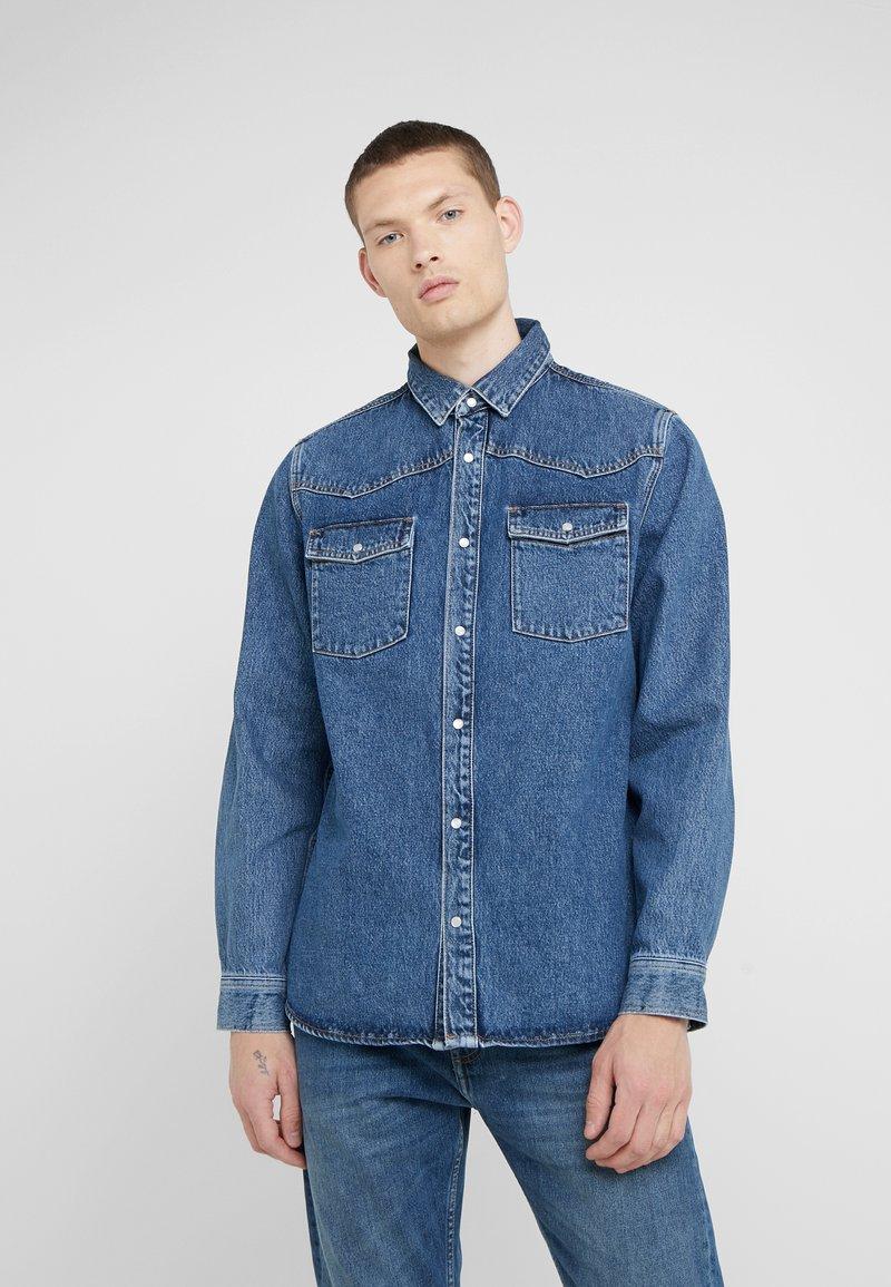 Won Hundred - PABLO - Shirt - stone blue