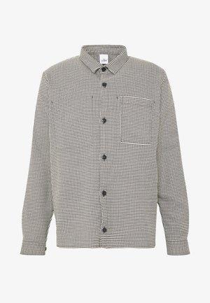 BOXER - Overhemd - black/white check