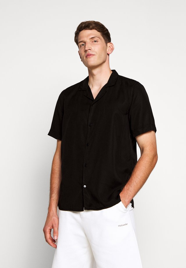 KIRBY - Overhemd - washed black