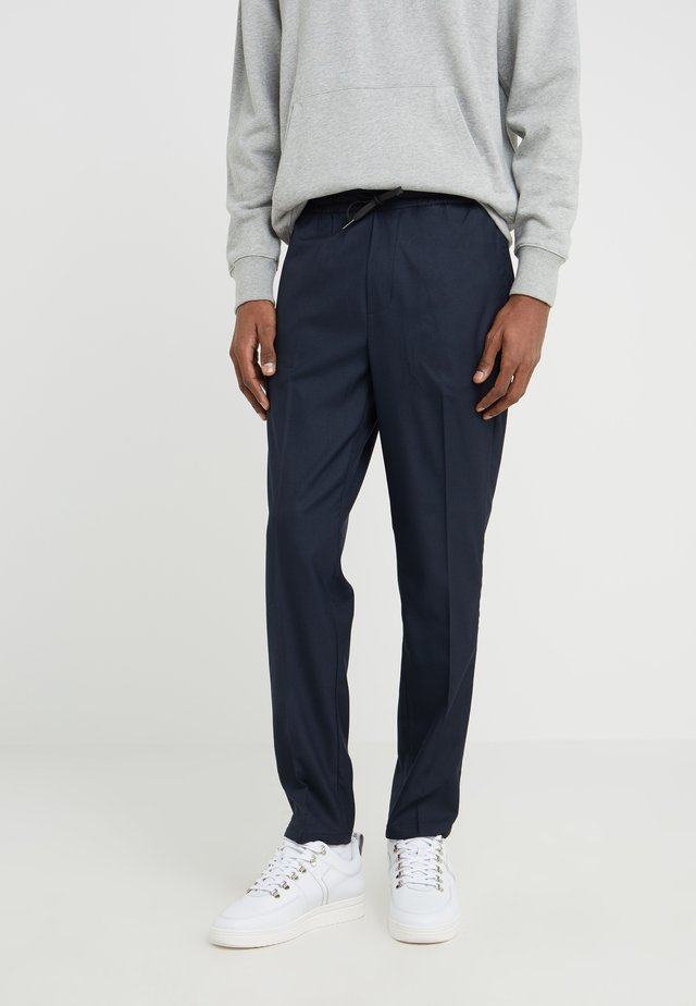 CLAVIN - Trousers - navy