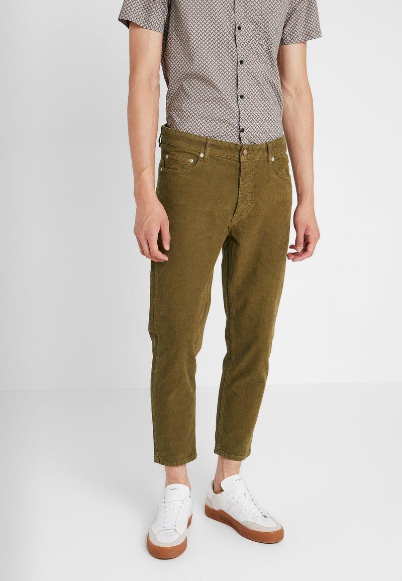 Won Hundred - BEN - Trousers - dark olive