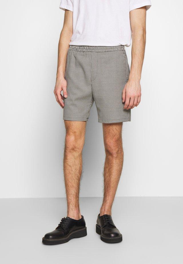 IGGY - Shorts - black/white