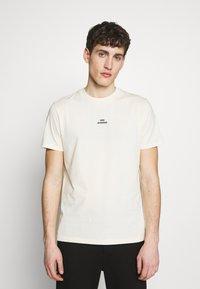 Won Hundred - TROY - Camiseta estampada - seedpearl white - 0