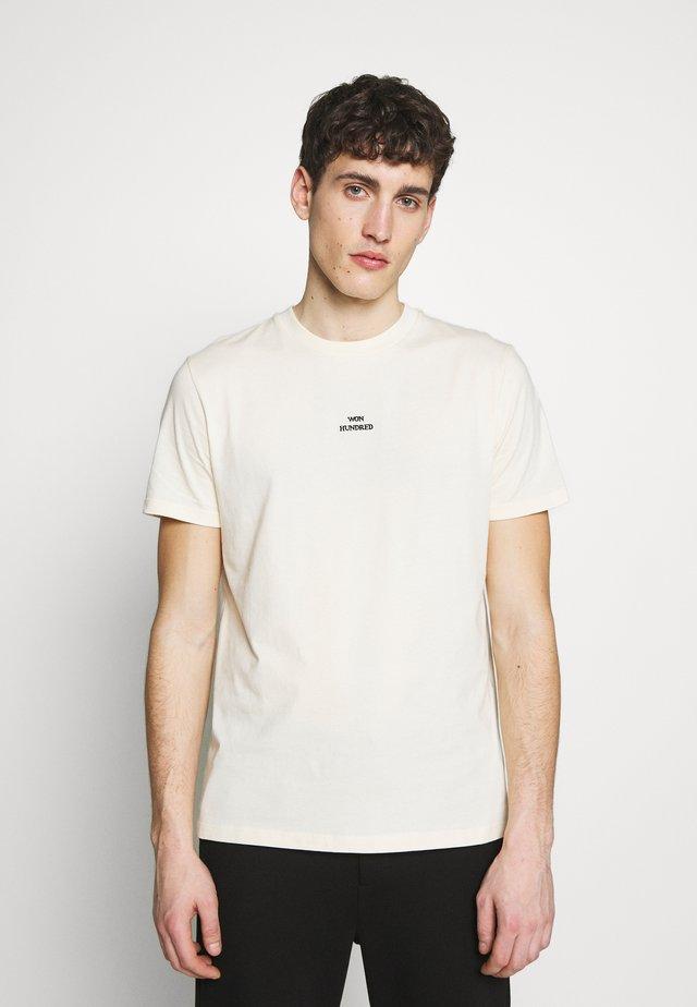 TROY - Camiseta estampada - seedpearl white