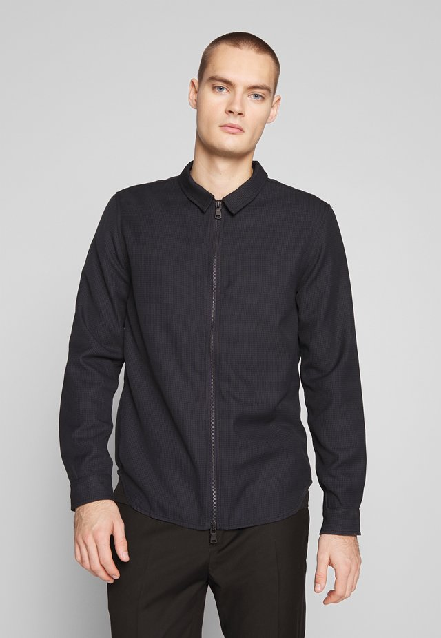 HARVEY - Veste légère - black/blue