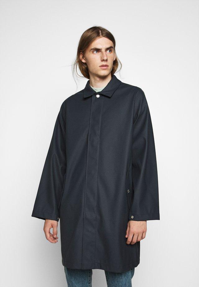 BOSTON - Vodotěsná bunda - washed black