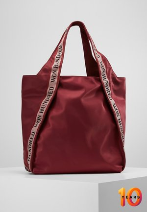 MERYL WITH STRAP - Shopping bag - beet red