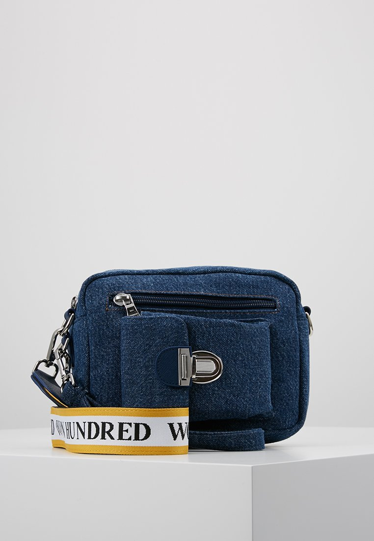 Won Hundred - EXCLUSIVE ATHEN - Umhängetasche - stone blue denim