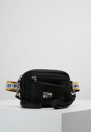 ATHEN YELLOW - Across body bag - black