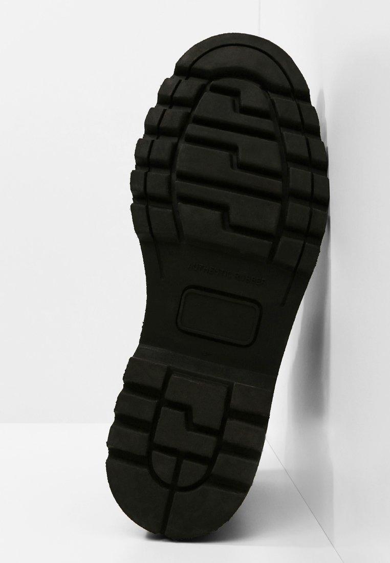 Wood Wood CONNOR BOOT - Bottines à lacets black
