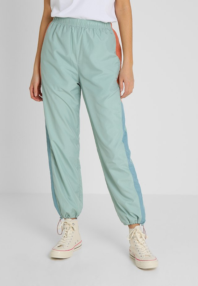 SOPHIA TROUSERS - Tracksuit bottoms - mint
