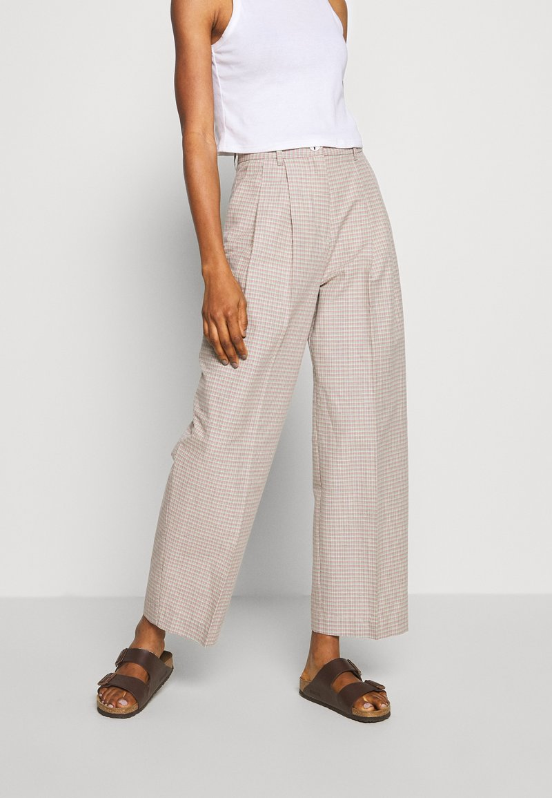Wood Wood - SUNNA TROUSERS - Trousers - beige