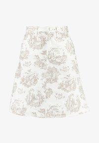 Wood Wood - YNES  - Áčková sukně - off white - 4