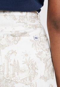 Wood Wood - YNES  - Áčková sukně - off white - 3