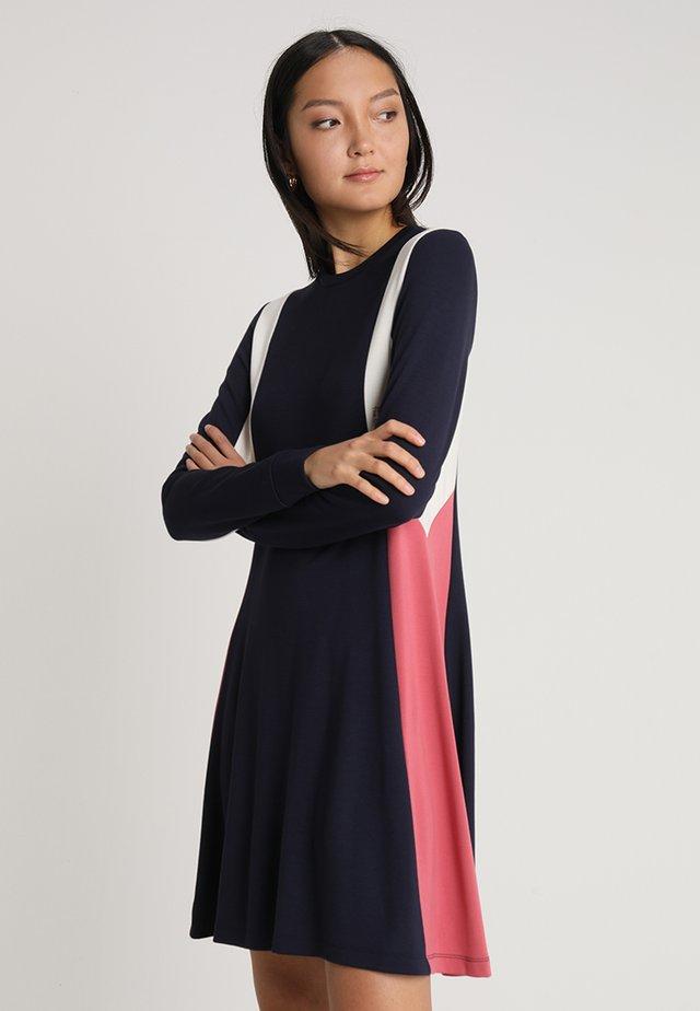 MANDY DRESS - Jersey dress - dark blue