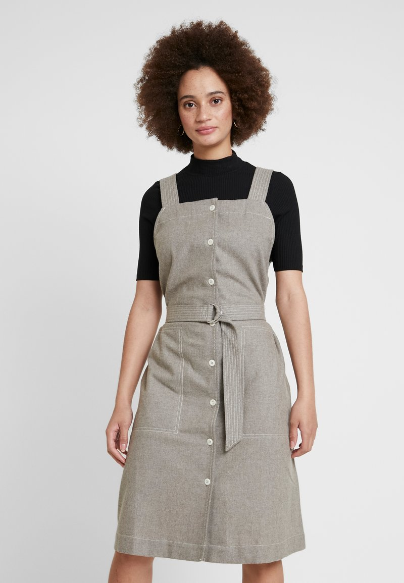 Wood Wood - CHARLOTTE DRESS - Day dress - light grey