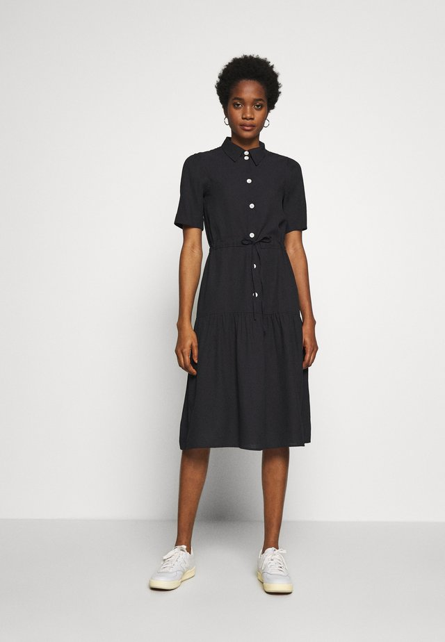 HILDE DRESS - Shirt dress - navy