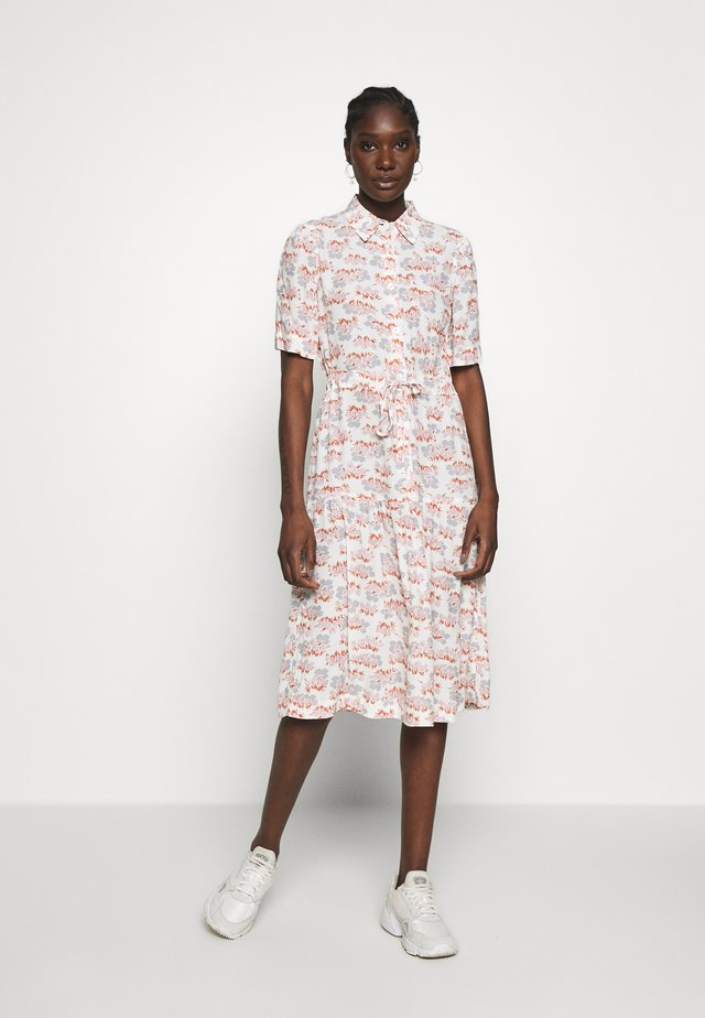HILDE DRESS - Shirt dress - off-white