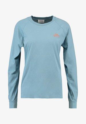 HALLI LONG SLEEVE - Long sleeved top - dusty blue