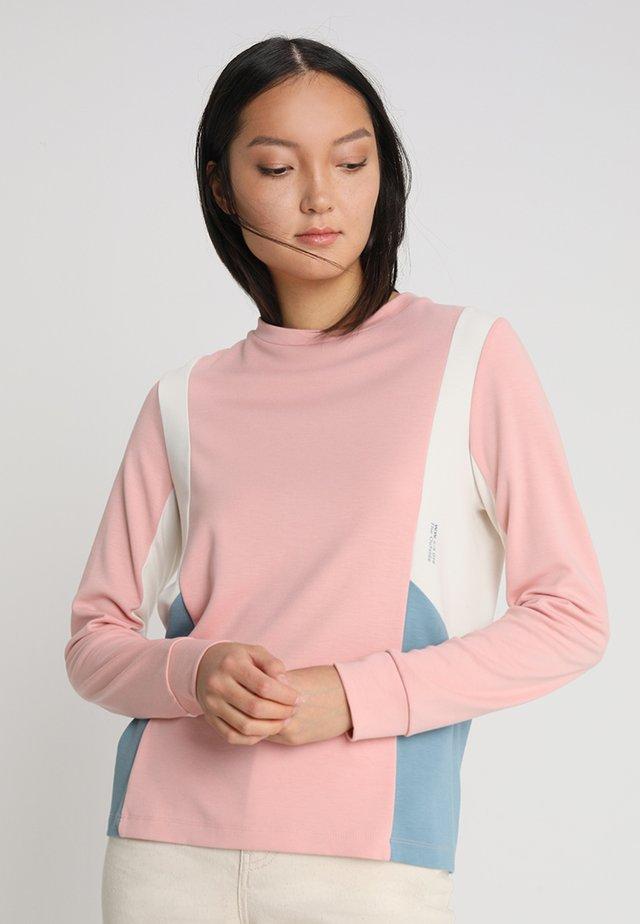 SALLY LONG SLEEVE - Long sleeved top - rose