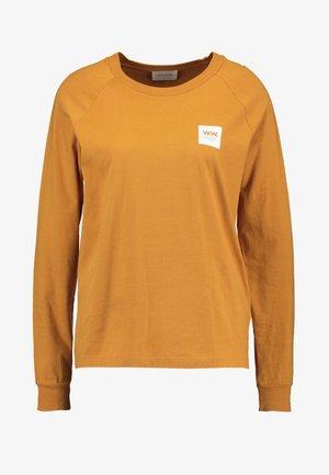 HALLI LONG SLEEVE - T-shirt à manches longues - mustard