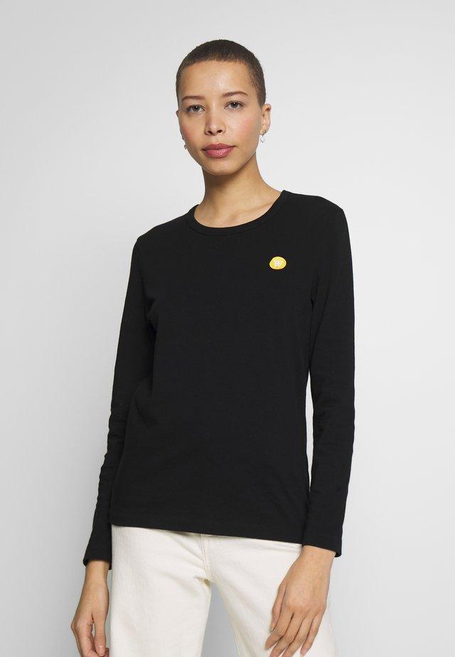 MOA LONG SLEEVE  - Long sleeved top - black