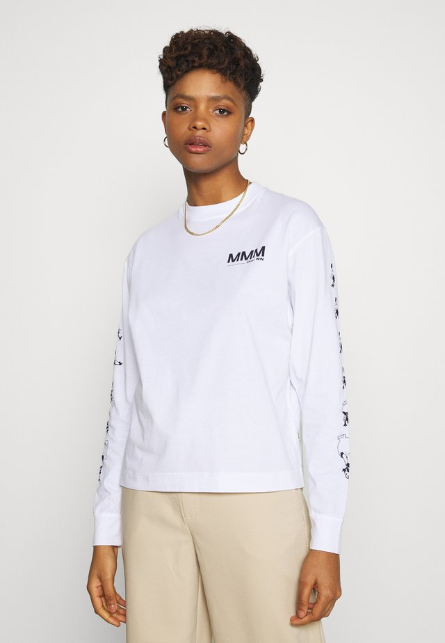 ASTRID LONG SLEEVE - T-shirt à manches longues - bright white