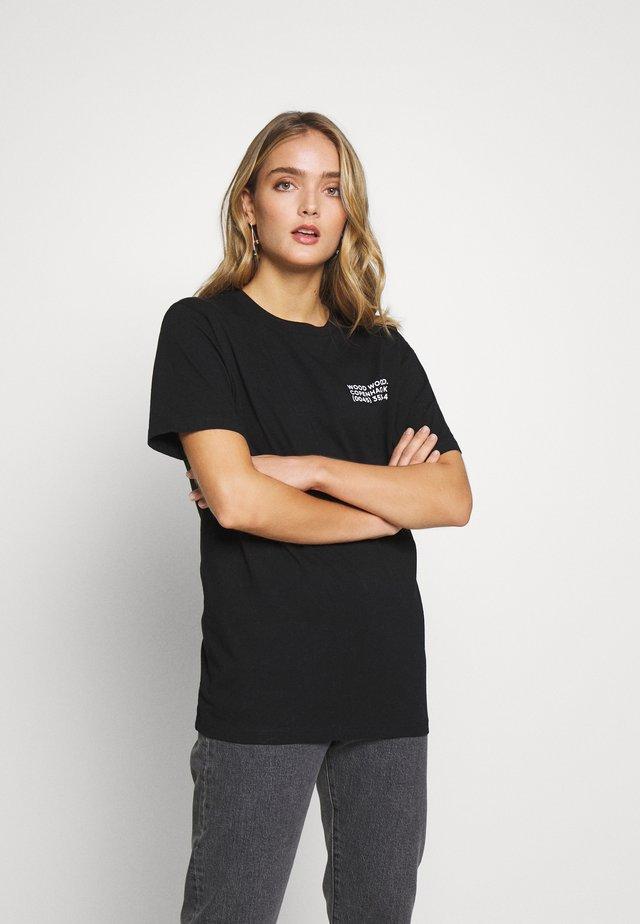 INFO - Print T-shirt - black