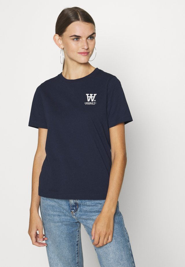 MIA - T-shirt con stampa - navy