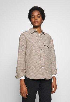 RITA - Button-down blouse - green