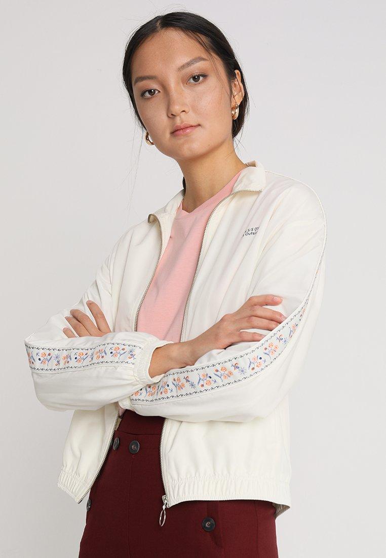 Wood Wood - TEKLA JACKET - Summer jacket - off white