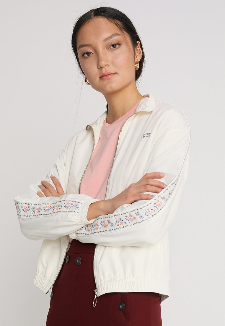 Wood Wood - TEKLA JACKET - Leichte Jacke - off white
